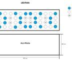 LED-Platte